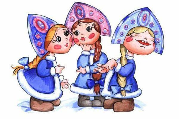 Три девицы под окном переделанный отрывок из сказки о Царе Салтане